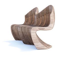 Параметрическая скамья S4.18 Parametric