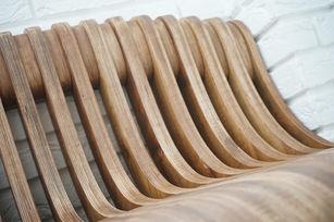 маленькая параметрическая скамейка