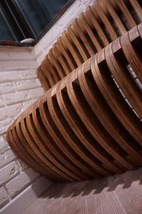 параметрическая скамья 1м