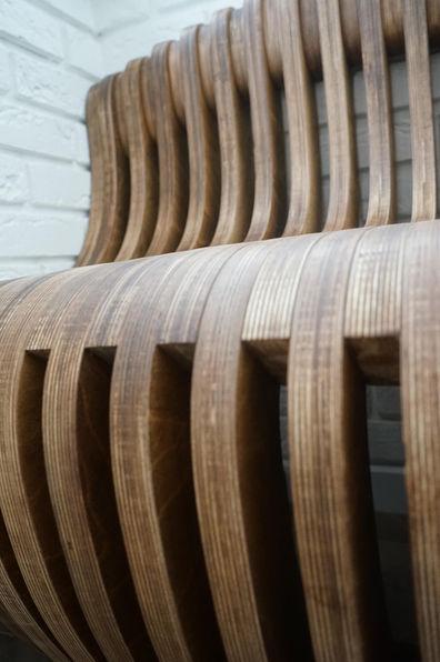 параметрическая скамья и стенапараметрическая скамья и стена