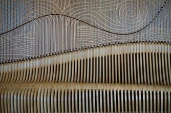 параметрическая скамья и стена