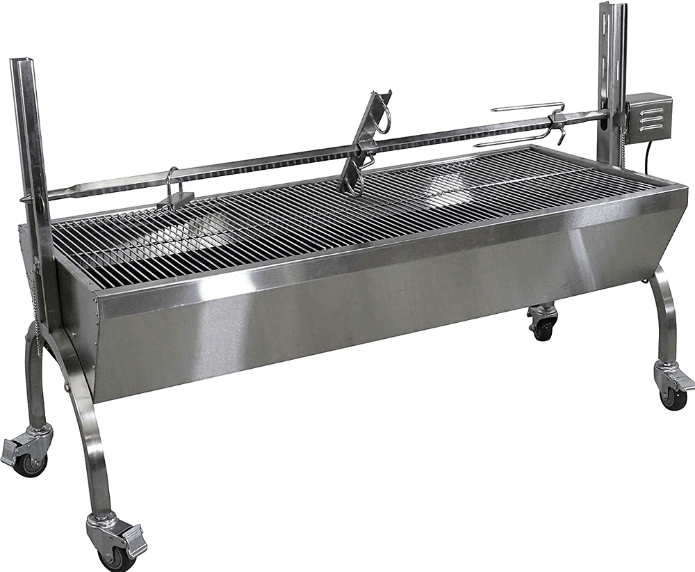 The Titan Great Outdoors Charcoal Rotisserie Grill
