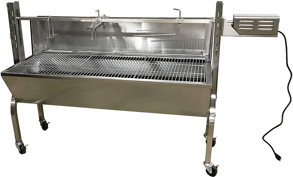 The Commercial Bargains Portable Charcoal Rotisserie Grill