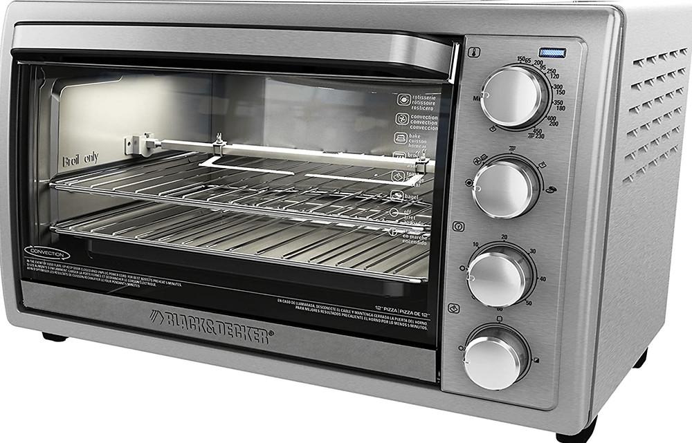The Black+Decker WCR-076 Rotisserie Toaster Oven