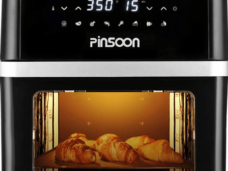 PINSOON 10-Quart Air Fryer with Rotisserie (Detailed Honest Review)