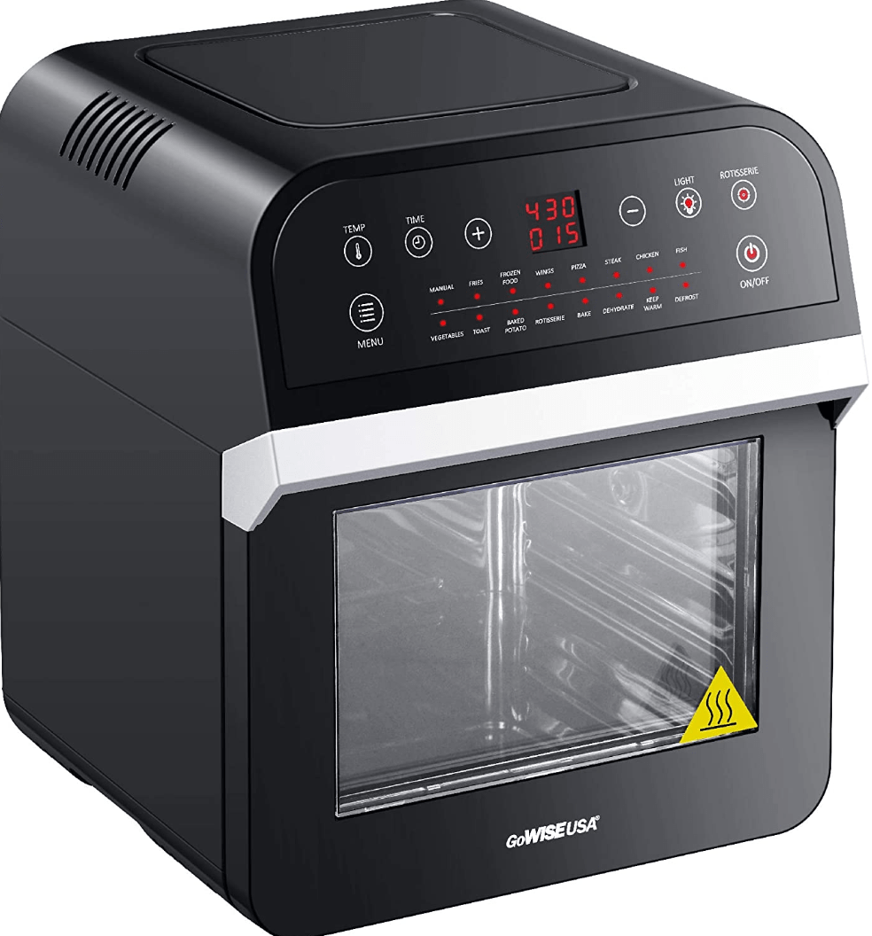 The GoWise 12.7 Quart Rotisserie Electric Oven Air Fryer Dehydrator