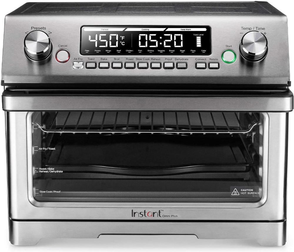 The Instant Pot Omni Plus 26L Air Fryer Rotisserie Oven