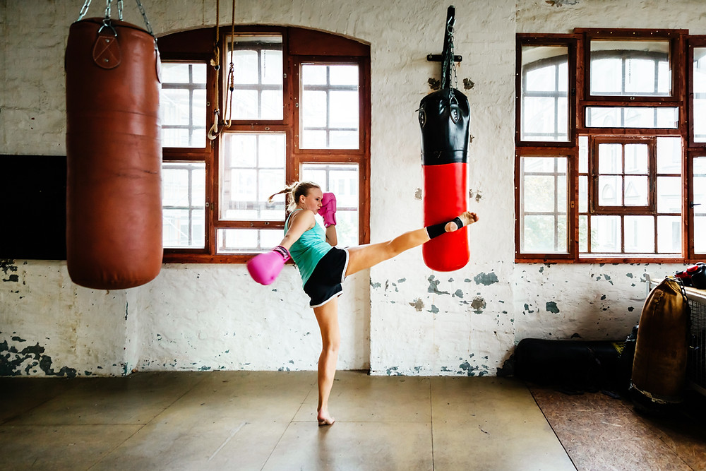 boxing and kickboxing in Keller, Texas