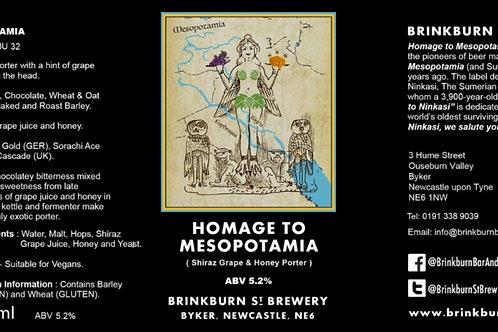 Homage to Mesopotamia