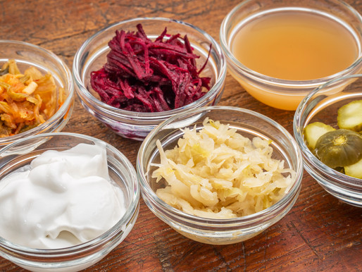 Helping Your Gut Help You...The Benefits of Fermented Foods