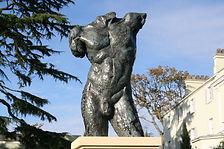 IMG_7224 Achilles - bronze resin 1m + Ba