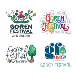 Goran Fest Logo Ideas