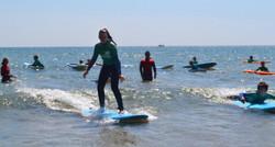 Surfing at Bigbury