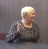 CSSA DIrector Yvonne Taylor being interviewed at CSSA Innovator's Pitch
