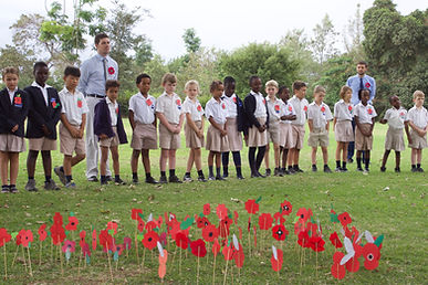Kennedy House School Students on Remembrance Day