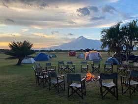 Kennedy House Camping trip near Usa River Tanzania