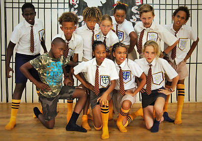 Primary school students at Kennedy House International School in Usa Riveral School Arusha