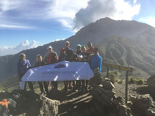 School Trip to Climb Mt Meru Kennedy House School Tanzania
