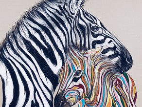 """All about my """"Paul Smith"""" inspired Zebras"""