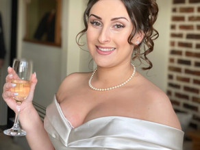 What do I consider when creating a bridal make up look?