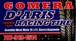 Gomera D' Aris Racing Tire