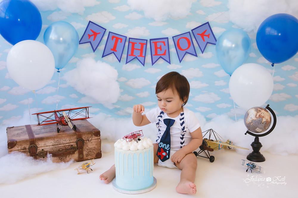 Juliana Keli Photography Cake Smash Session