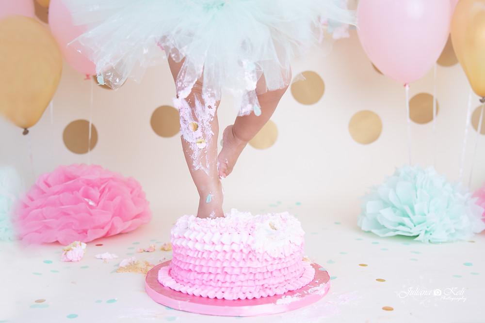 Cake Smash Photographer | Coral Springs | Juliana Keli Photography