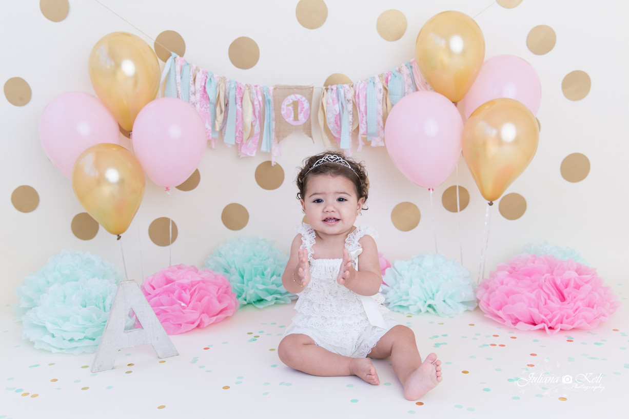 Alyssa's Cake Smash Session {Cake Smash Photographer Coral Springs}
