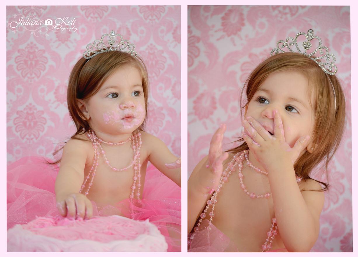 South Florida baby Photographer {Hanah's Cake Smash} Parkland