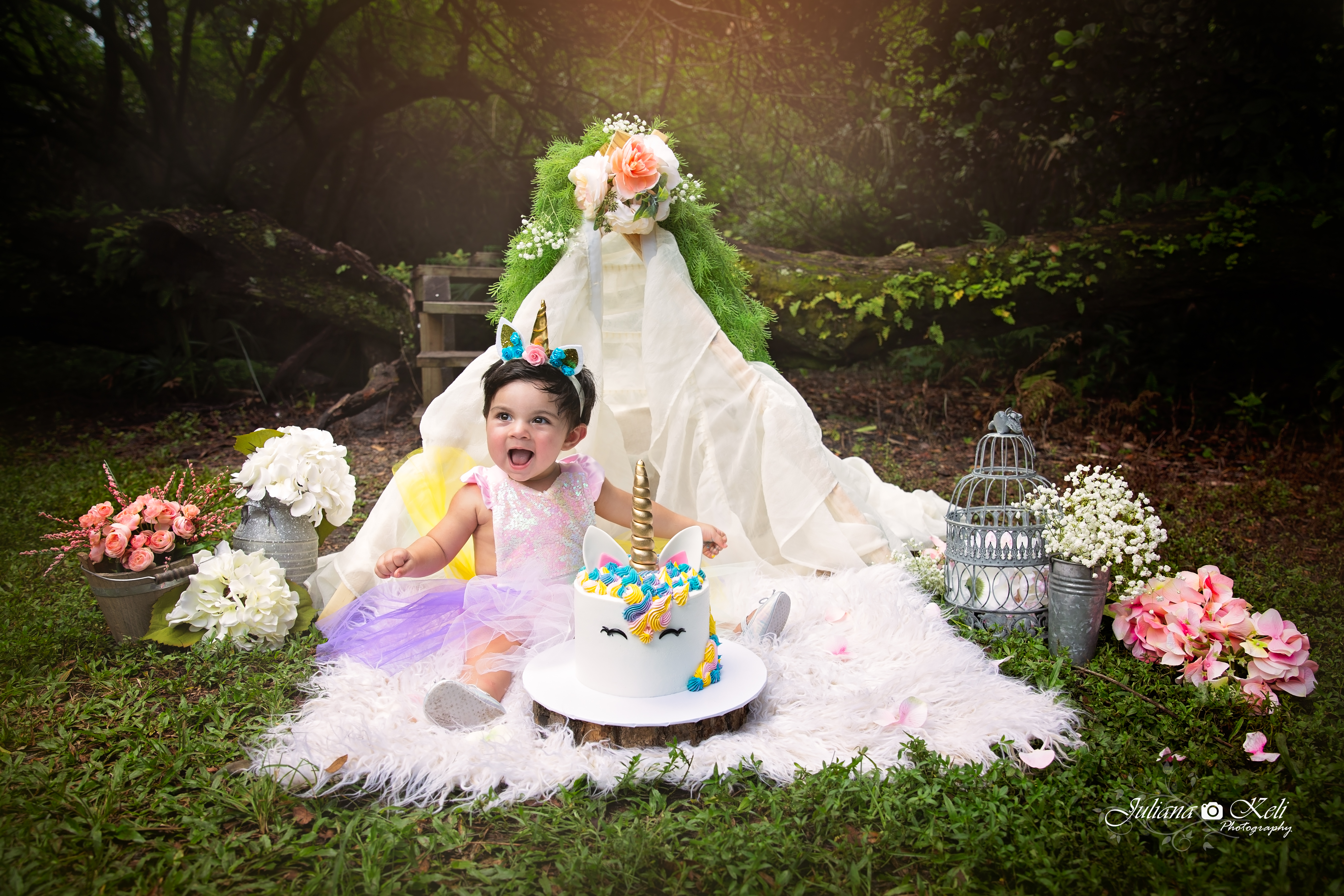 Cake Smash Photography
