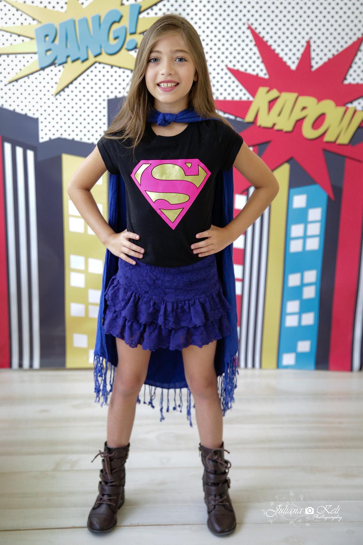 Children portrait- super hero mini session
