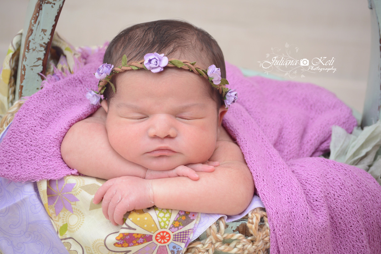 South Florida Newborn Photographer {Princess Millena}