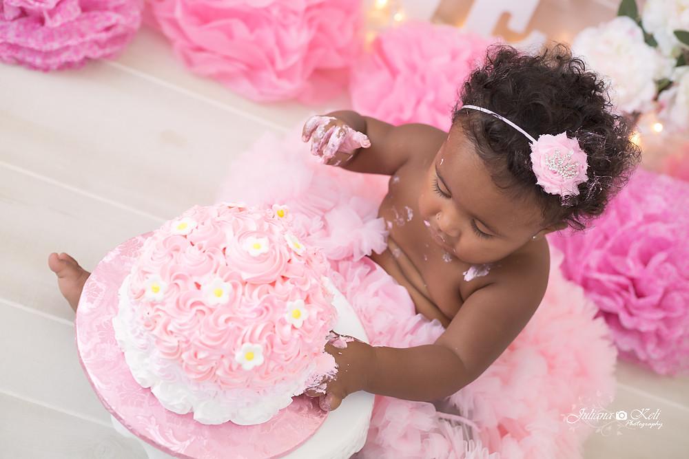 Juliana Keli Photography Cake Smash Sessions