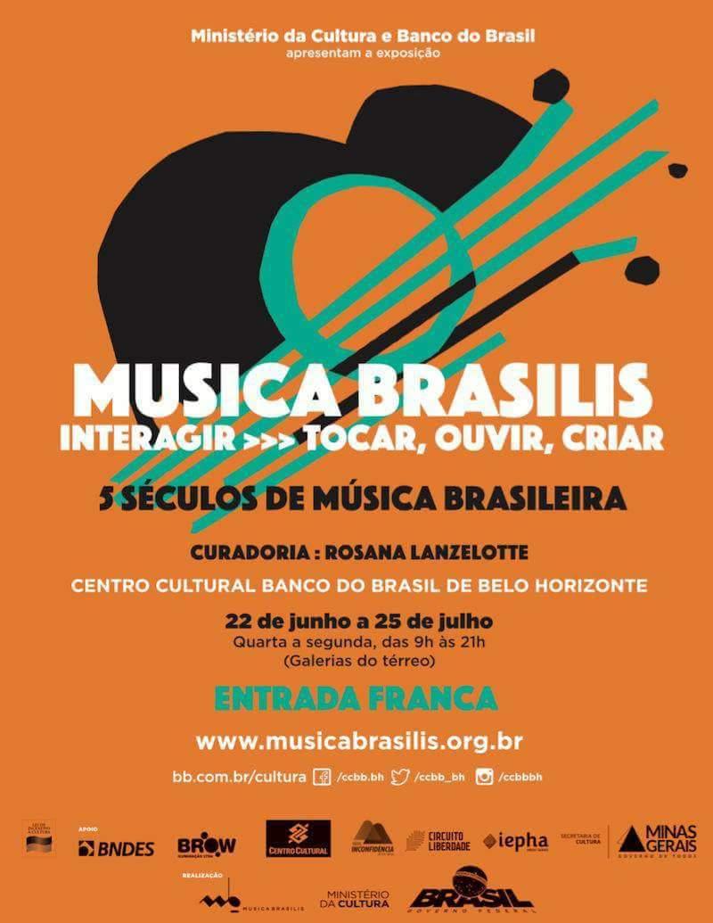 Exposição Musica Brasilis