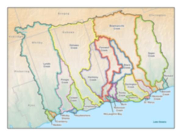 Map of CLOCA Jurisdiction