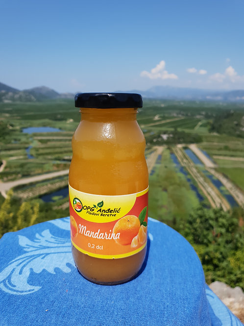 Sok Mandarina 100% prirodni 0.2dcl