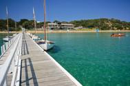 Summer morning at the Sorrento Sailing Club