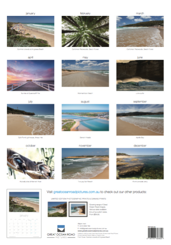2021 Great Ocean Road Calendar