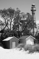McCrae Lighthouse and Beach Huts