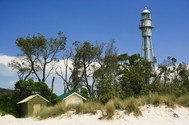 McCrae Lighthouse and Beach Huts II