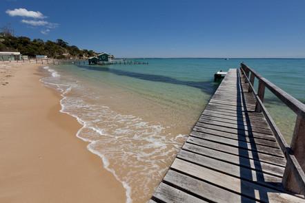 Shelley Beach Jetties, Portsea