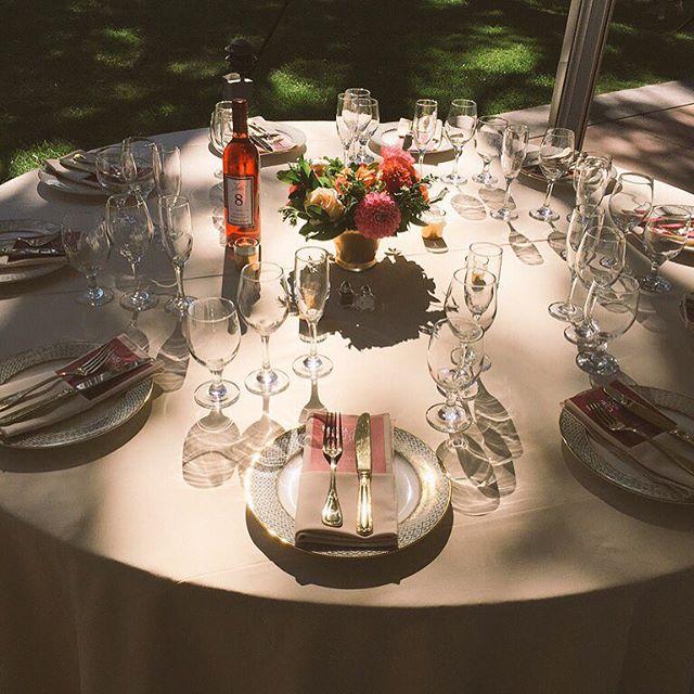 Beautiful wedding table