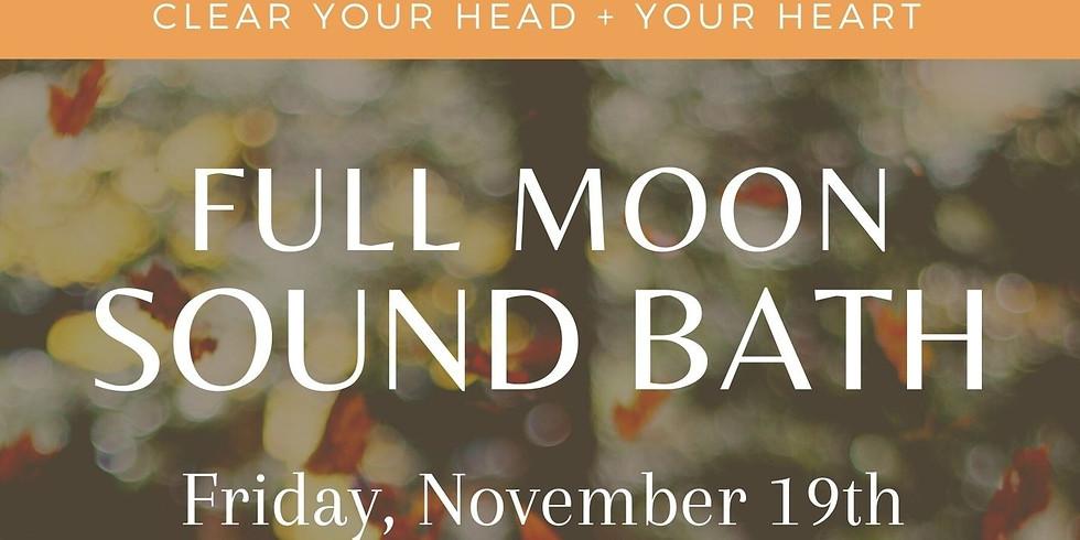Full Moon Sound Bath