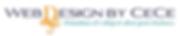 Web Design by CeCe Large Logo
