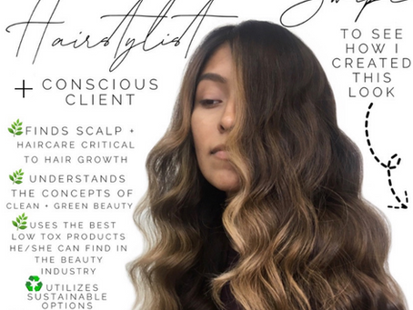 🌿 ✂️ Holistic Hairstylist + The Conscious Client