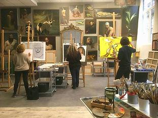 Paris Art Painting Class