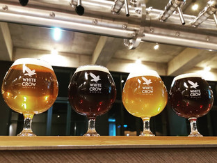 White Crow Brewing – Branded Glassware