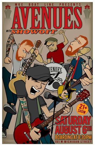 Avenues - 2016 Concert Poster
