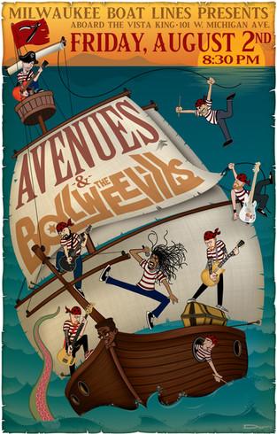Avenues - 2019 Concert Poster