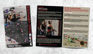 Adventure Rock – Printed Brochure